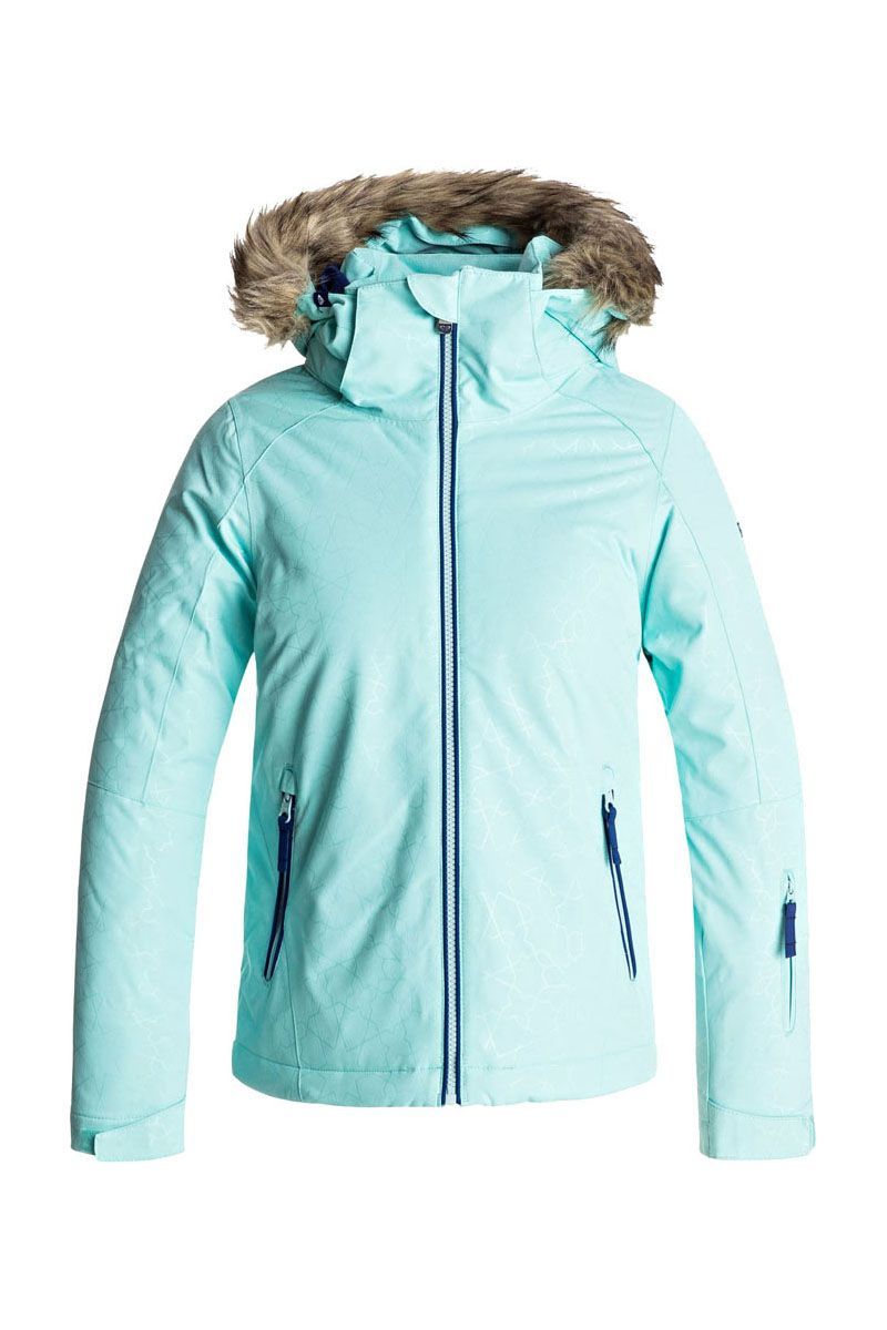 7fb825420 2018 Roxy Girl s American Pie Solid Insulated Jacket