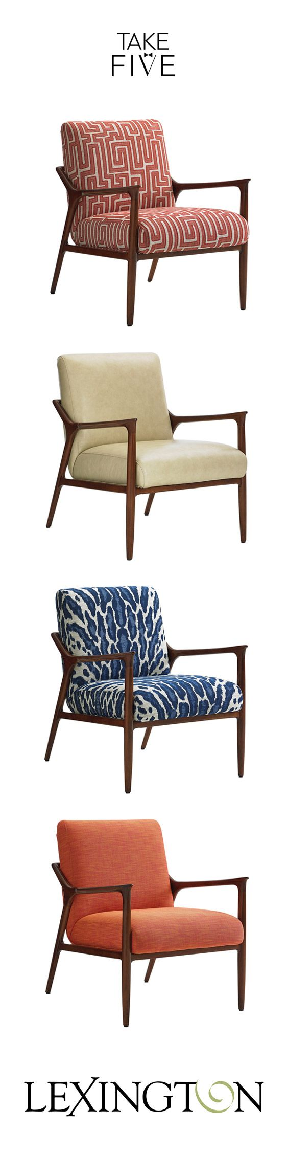 Couch Upholstery Fourways Our Mid Century Modern Warren Chair Shown Four Ways Mid