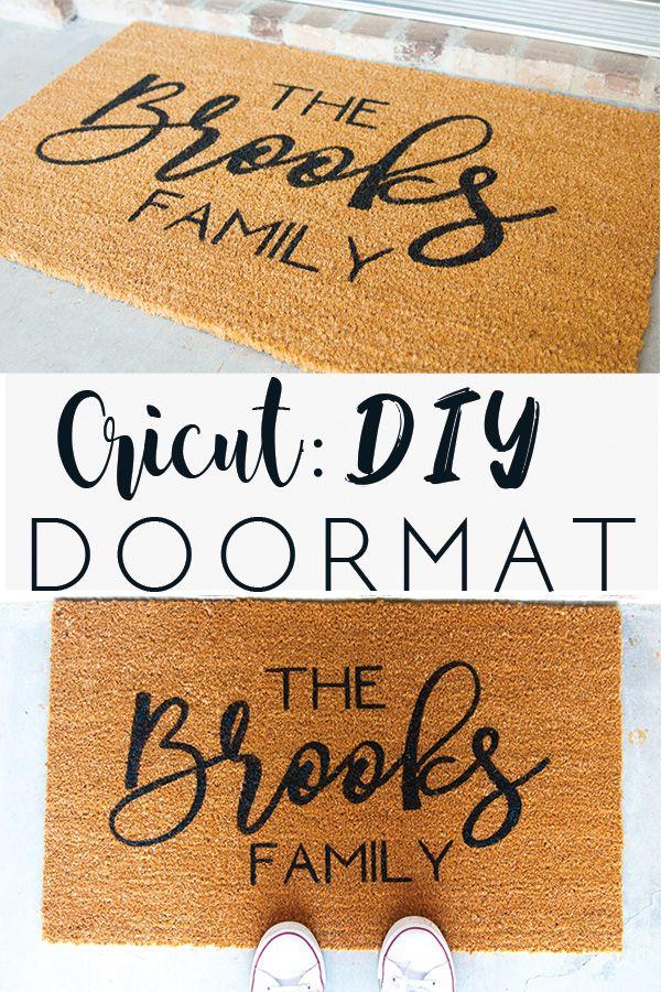 Photo of Cricut: DIY Doormat