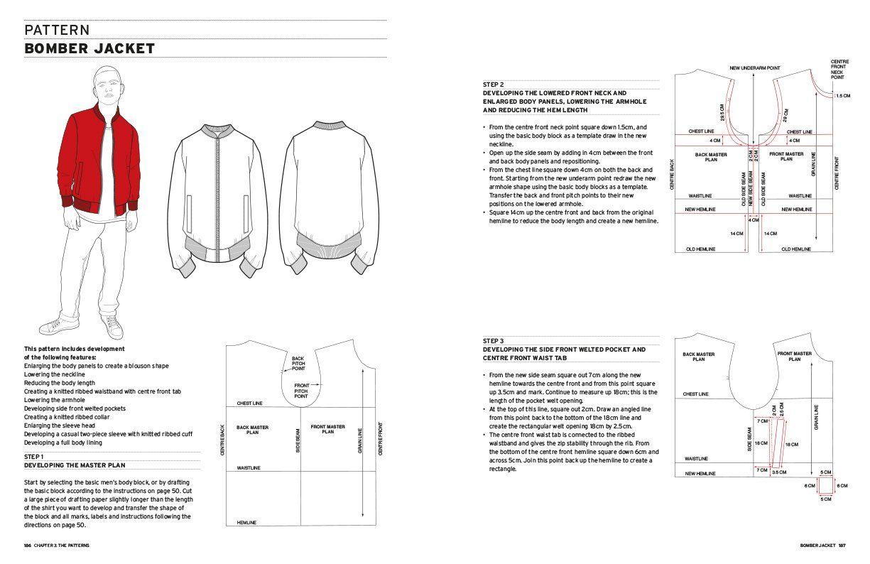 Image Result For Bomber Jacket Pattern Patterned Bomber Jacket Jacket Pattern Clothing Patterns [ 794 x 1225 Pixel ]