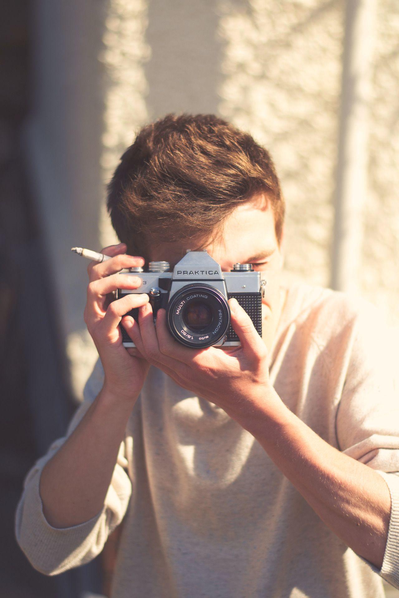 praktica via moodacris holding references camera photography