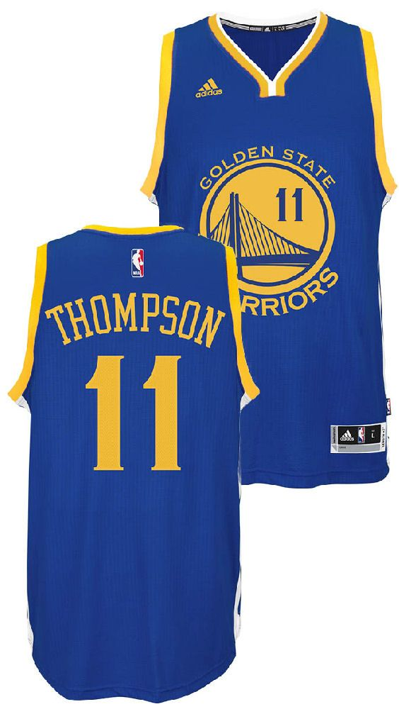 more photos 5b1f6 d3400 Klay Thompson Youth Golden State Warriors Adidas Blue ...