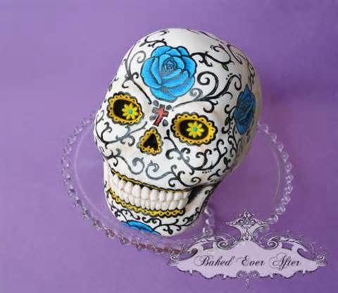 Portfolio » 3D Cakes Dia De Los Muertos Cake Wjpg