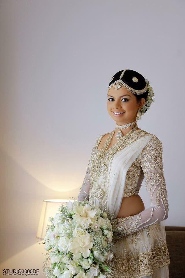 White Saree Bridal Sarees Brides Sari The Bride Wedding