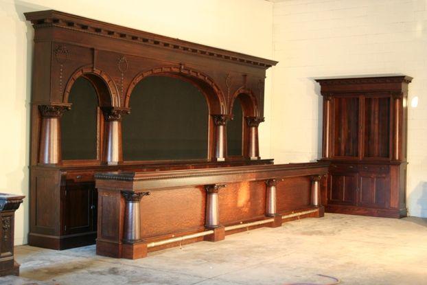 Antique brunswick bar google search classic bar for Classic furniture restoration