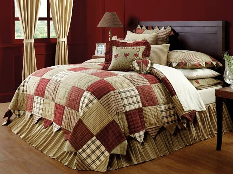 Country And Primitive Bedding Quilts Heartland Bedding