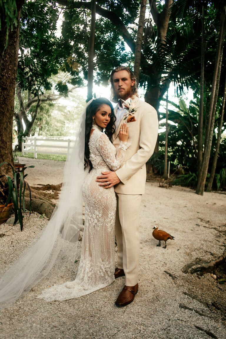 Exclusive See Riverdale Star Vanessa Morgan And Athlete Michael Kopech S Wedding Photos In 2020 Interracial Wedding Stunning Wedding Photos Wedding Photos