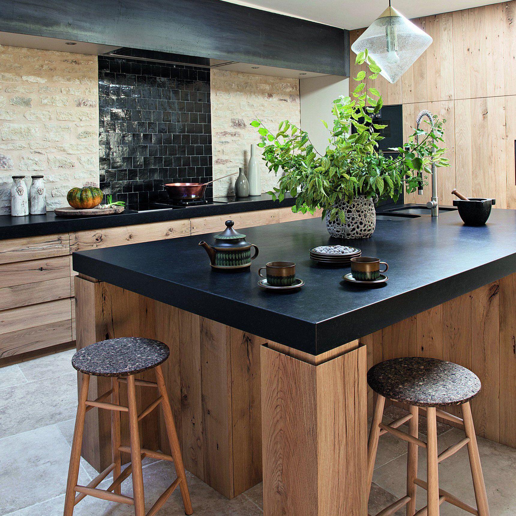 6 exemples de cuisine en bois qui ont adopté le style campagne chic ...