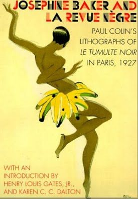 Josephine Baker and la  Revue Negre, 1927 Vintage Poster