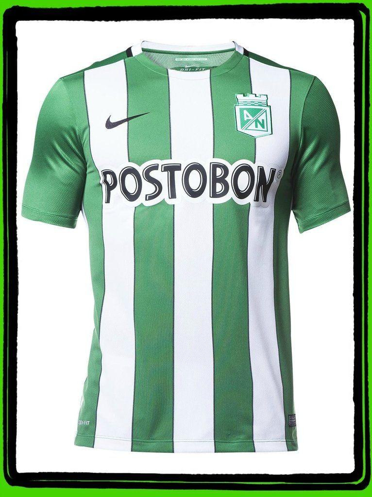 741439732 Camiseta Nike M C Oficial Atlético Nacional 2016