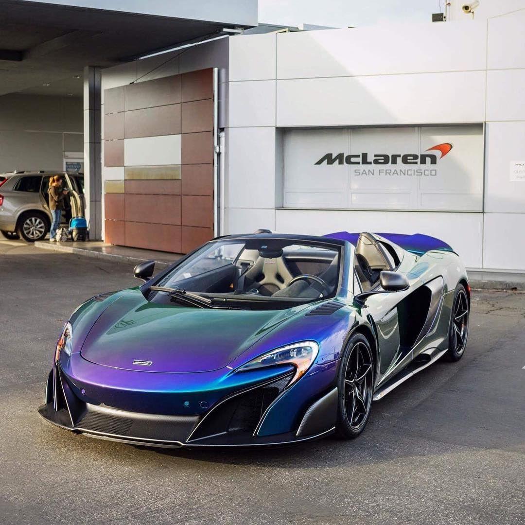 McLaren MSO 675LT Spider #Beauty #Power #SuperCar #Speed
