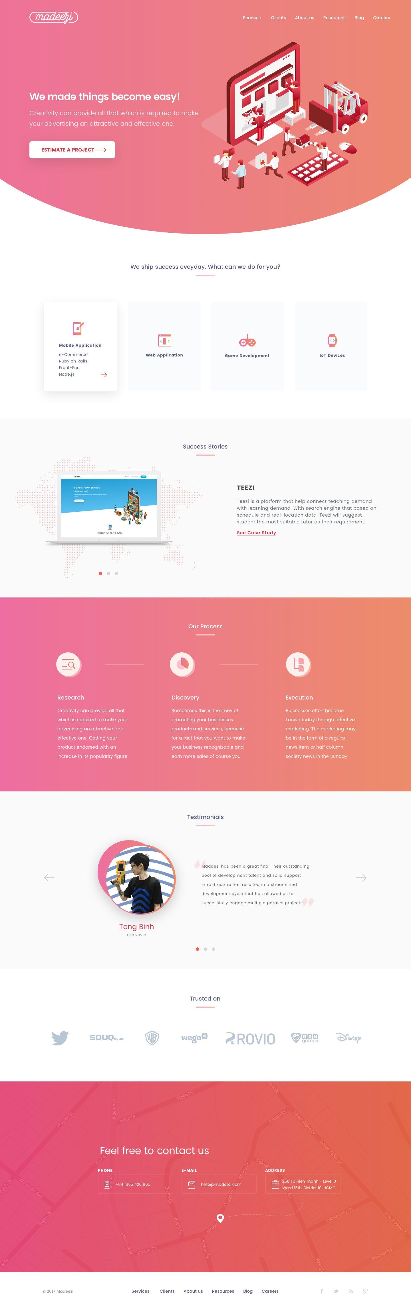 Desktop Hd Web App Design Css Tutorial Agency Website Design