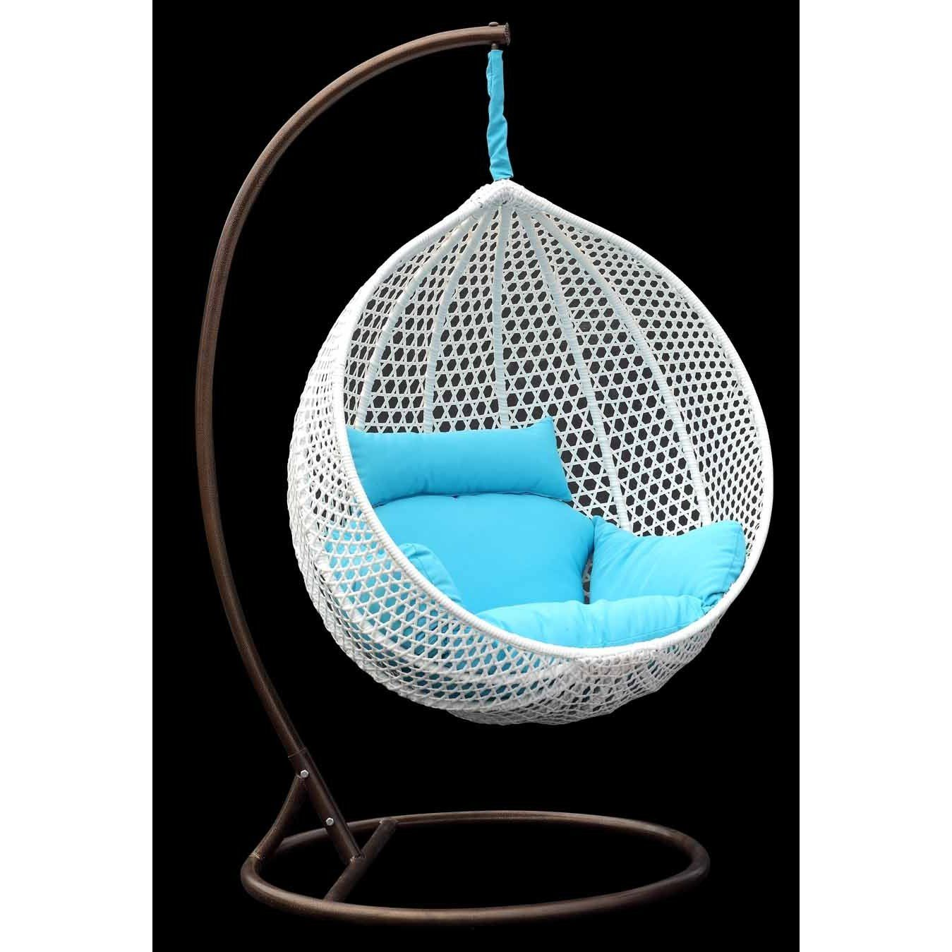 hanging chair stand white ergonomic explanation for the home pinterest chaise