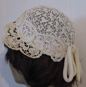 lace flapper hats  | Clothing, Shoes & Accessories > Vintage > Vintage Accessories > Women ...