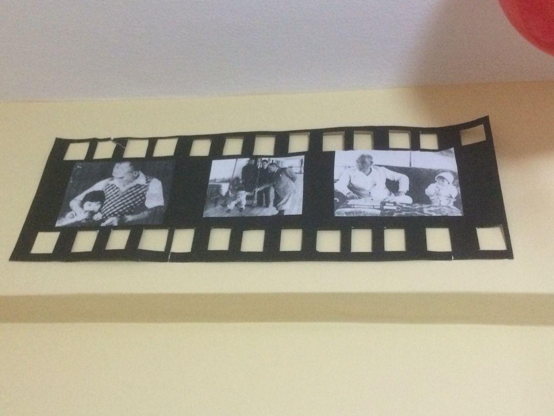 Atatürk Film şeridi Atatürk Sergisi Pinterest