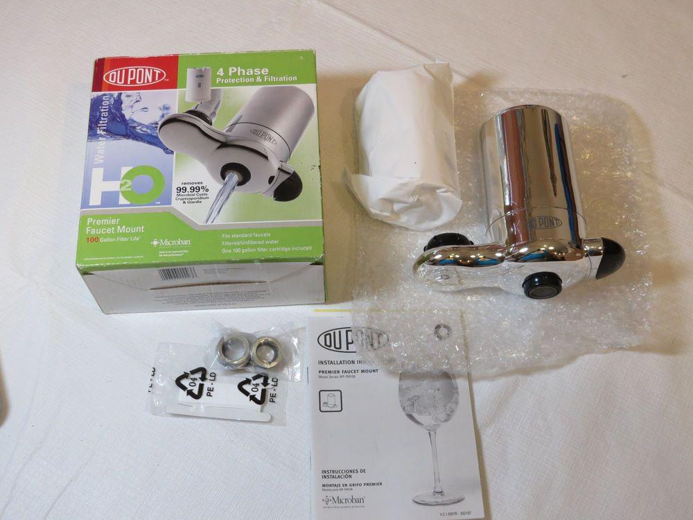 DuPont WF-FM100XCH 4 Phase Protection & Filtration Premier Faucet ...