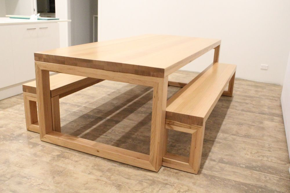 22++ Oak dining table and bench set Inspiration