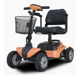 RiderXpress 450W Personal Transport 4 Wheel E-Scooter