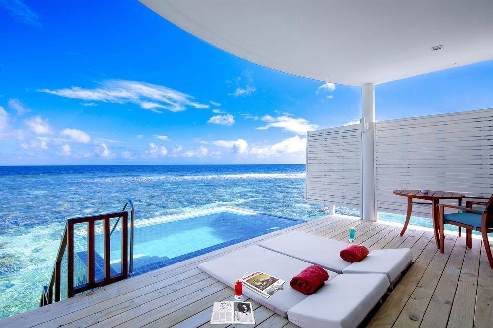 Centara Grand Island Resort Spa Maldives All Inclusive In Machchafushi Maldives Luxury Resorts Resort Interior Design Island Resort
