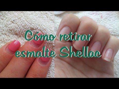 Cómo Retirar Esmalte Shellac Manicura Semi Permanente