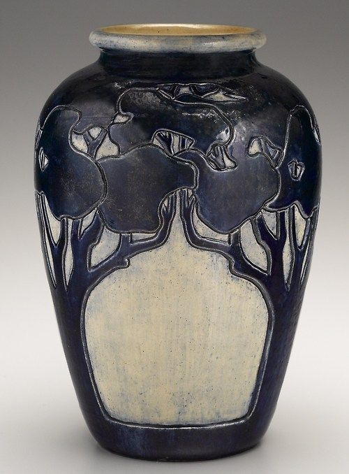Arts And Crafts Vase Made By Newcomb Pottery Pottery Art Newcomb Pottery Ceramic Art