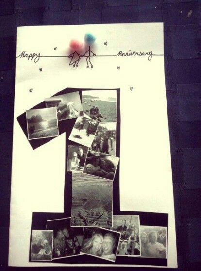 Bonito regalo de primer aniversario juntos creatividad - Regalos de primer aniversario ...