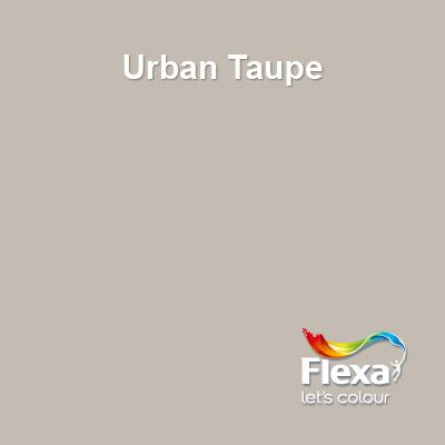 Flexa Creations kleur: Urban Taupe Muur woonkamer | C0l0urs ...