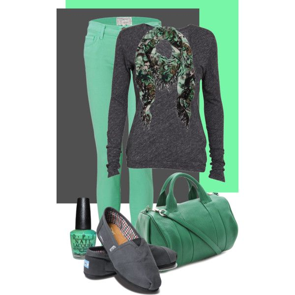 """Colored Jeans"" by maizie2020 on Polyvore"