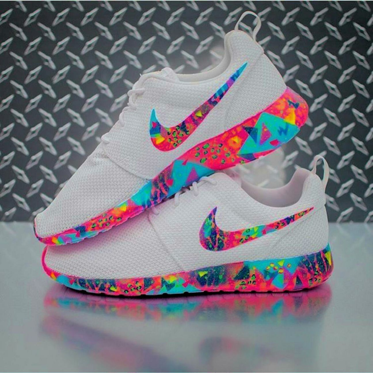 Rainbow VaporMax Plus | Cute shoes, Shoes, Sneakers fashion