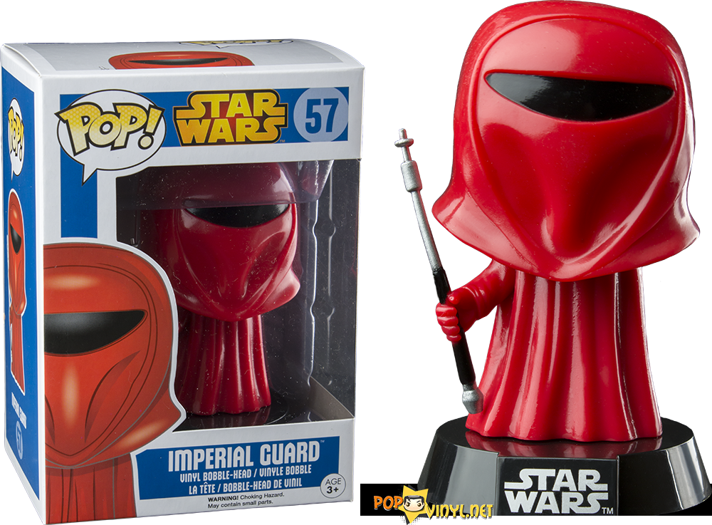 Star Wars Imperial Guard Pop Vinyl Bobble Head Figure