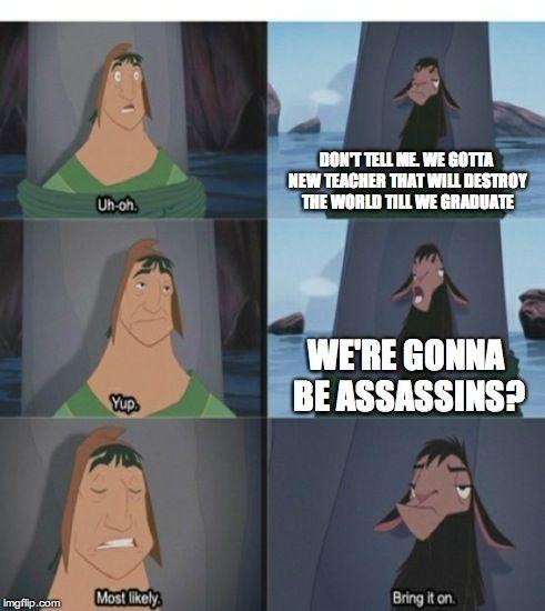 Assassination Classroom In a Nutshell by Gollum123.deviantart.com on @DeviantArt
