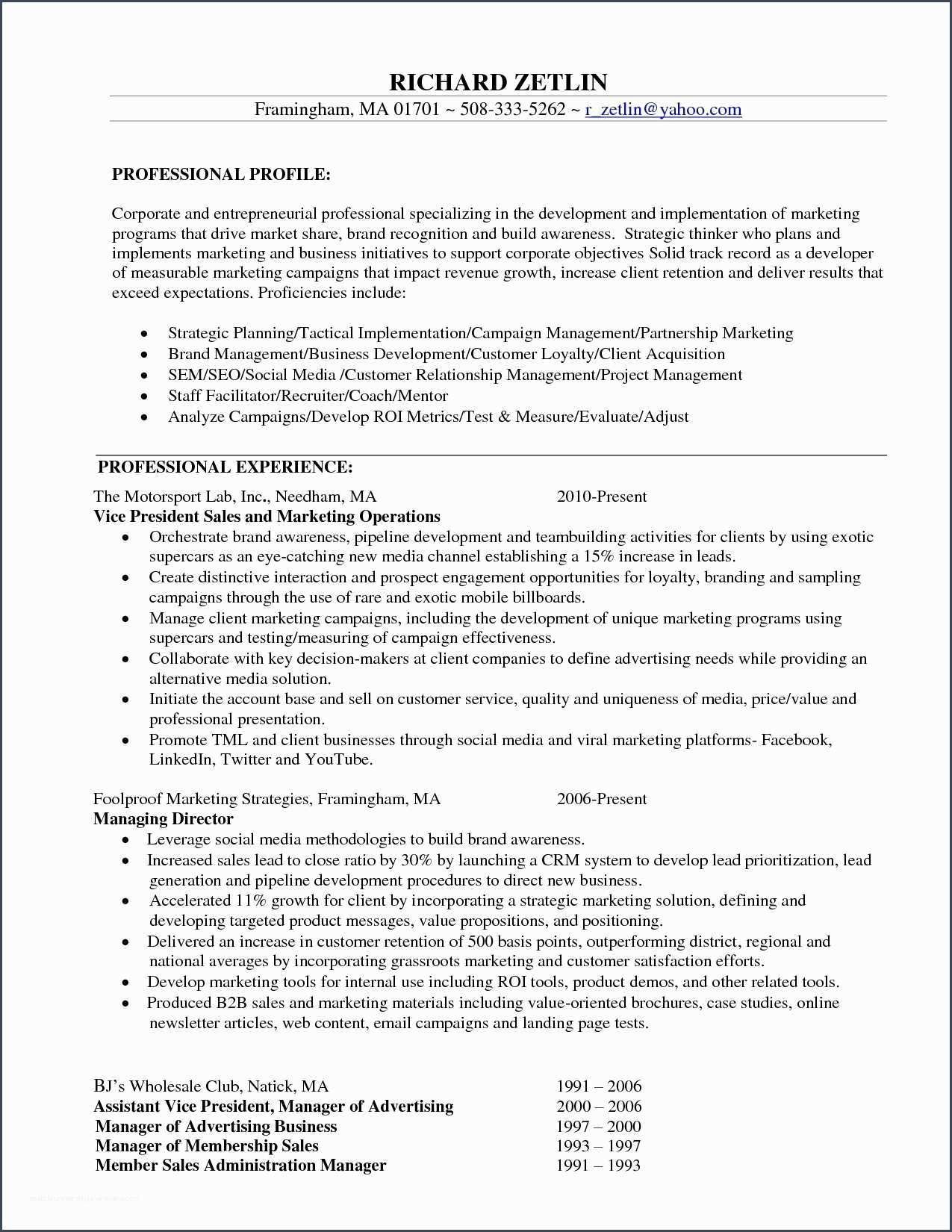 niceit manager resume objective