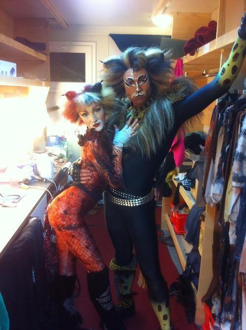 Bombalurina Rum Tum Tugger Cats Musical Disney Musical