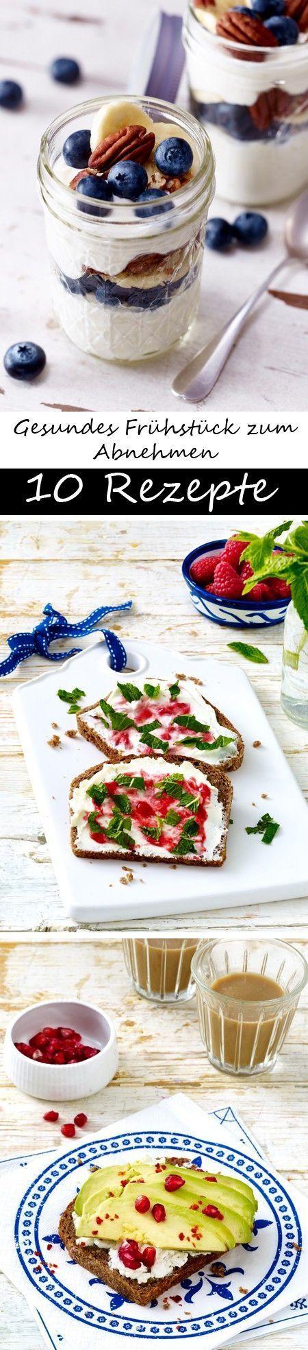 10 mal gesundes Frühstück zum Abnehmen -