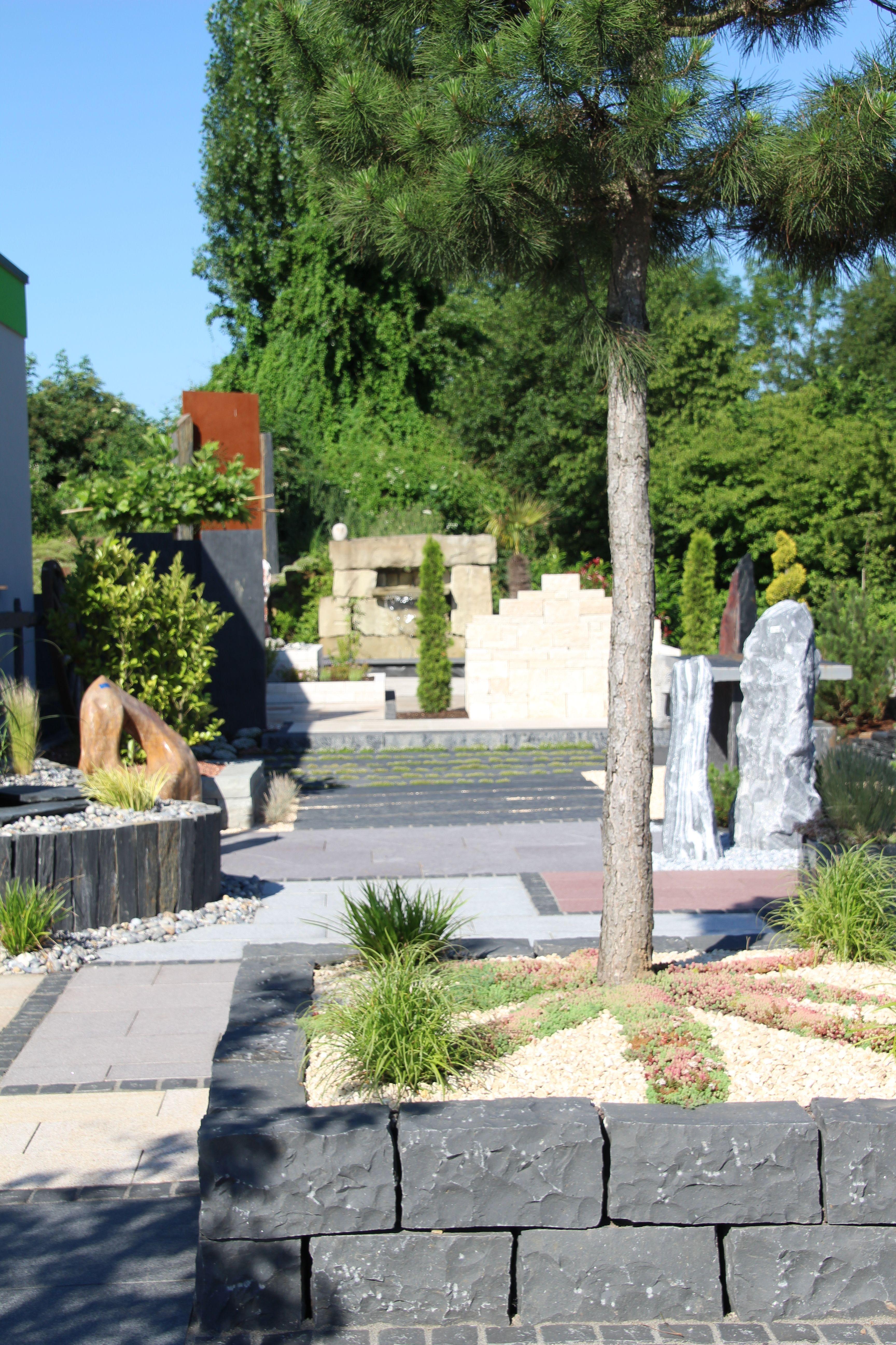 Garten ▫ Terrasse ▫ Außengestaltung ▫ Dekoideen ▫ Trockenmauer ...