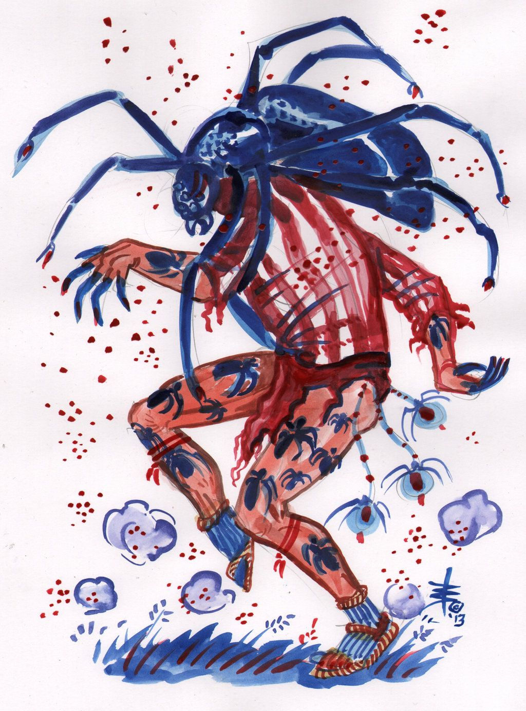 Heyoka Spider The Sacred Clown Spider Art Character Art Art This video was made to explore the uncommon/ unpopular nature of the heyoka. heyoka spider the sacred clown