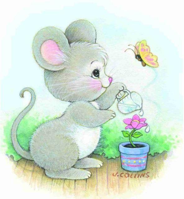 Милый мышонок открытка, тебе скучаю картинки
