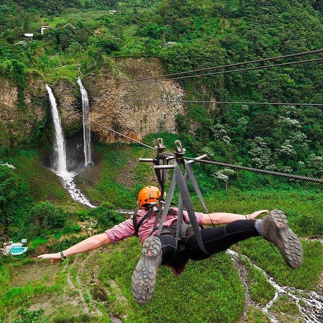 #destinavobucketlist Baños - Ecuador @rbnsworld    ✈ 🌎 Hashtag #destinavo on your travel photos for a chance to be featured!
