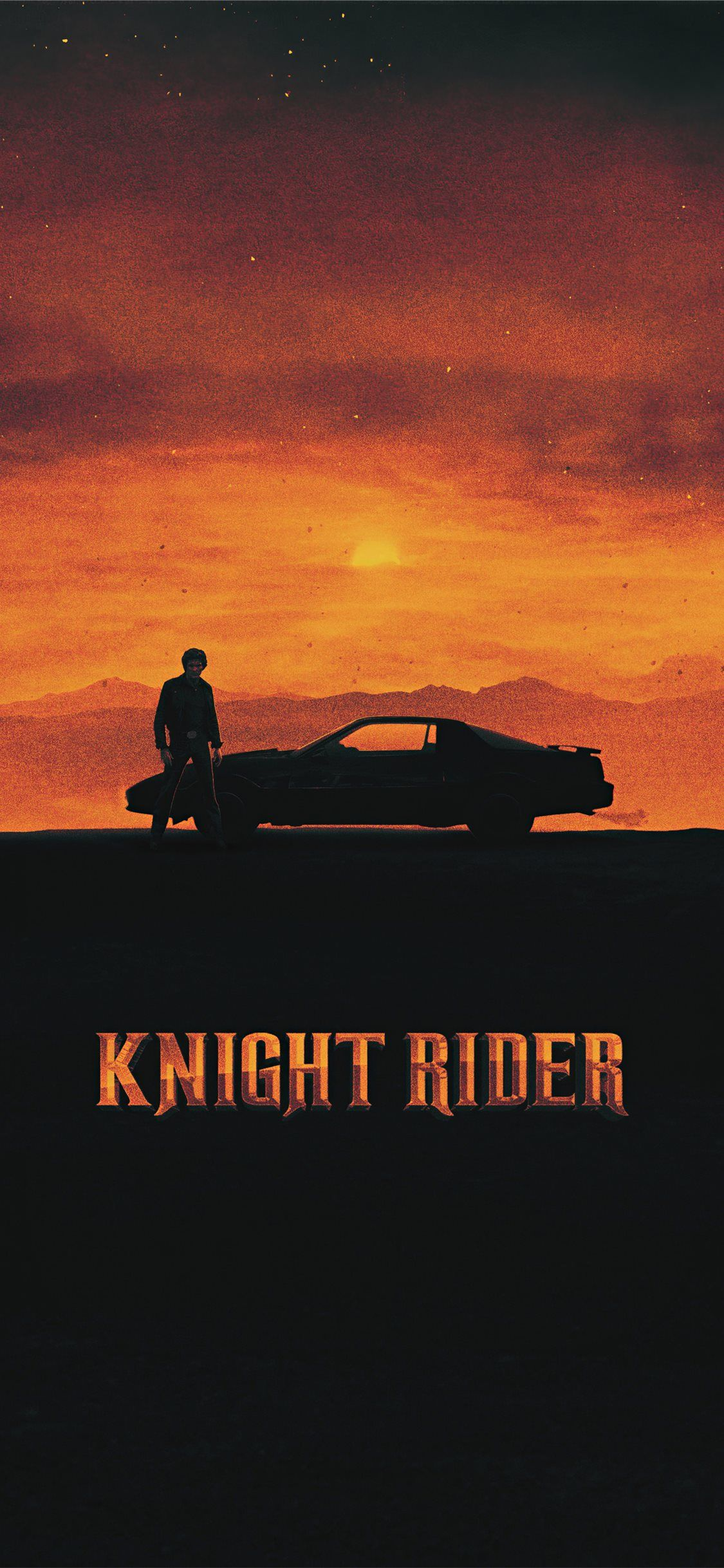 Free download the knight rider 1982 movie poster wallpaper