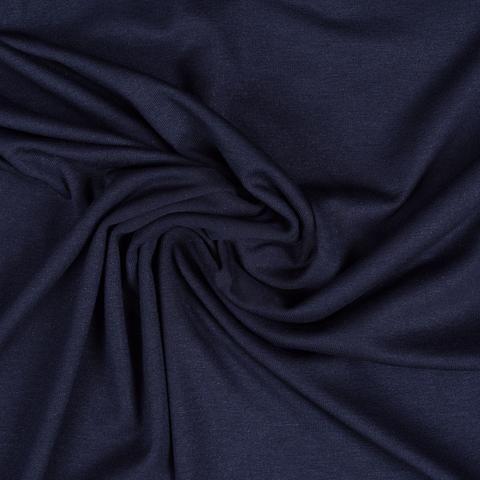 Jersey, mørk blå med sølv glimmer
