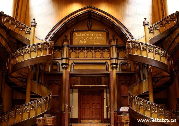 Best Notre Dame Basilica Montreal Staircase Spiral Stairs 400 x 300