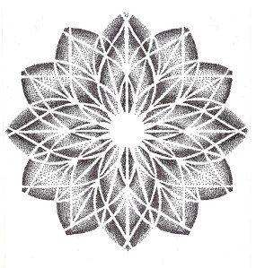 Dotwork Mandala Mandala Tattoo Vorlagen Geometrisches Tattoo Mandala Tattoo Design