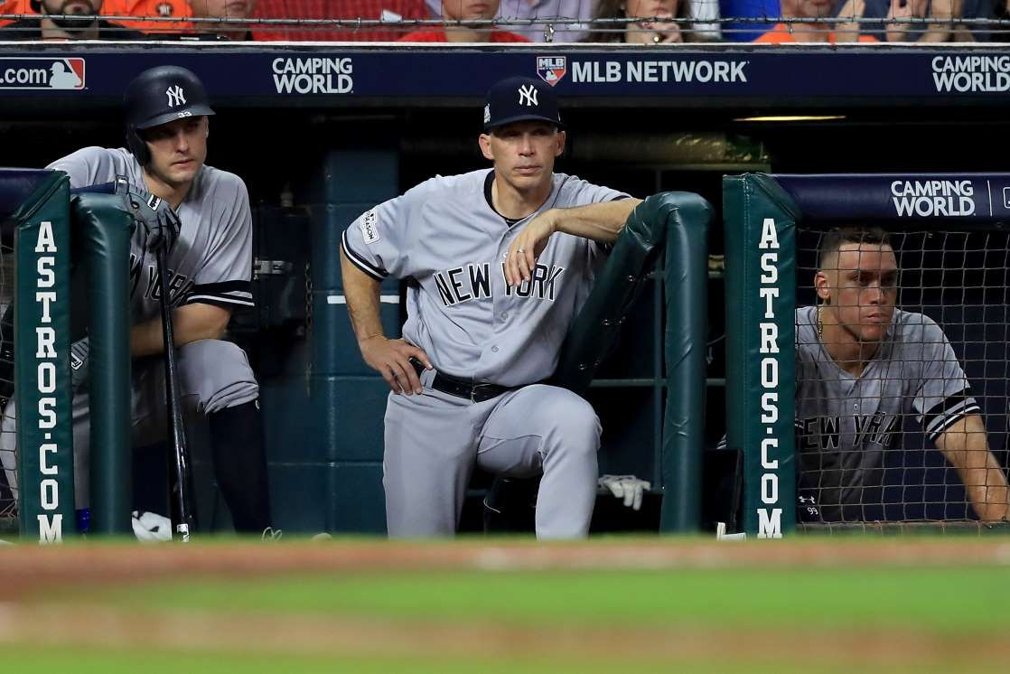 11 Funniest Tweets From The Astros Taking Down The Yankees In Game 7 October 21 2017 Greg Bird Manager J Baseball World Series New York Yankees Yankees