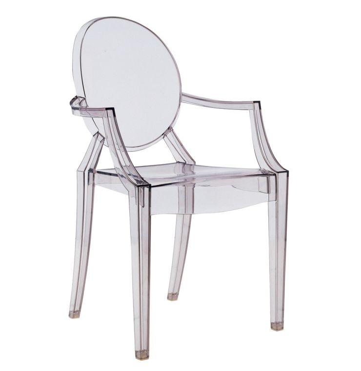 Le fauteuil Louis Ghost par Philippe Starck   Philippe starck ...