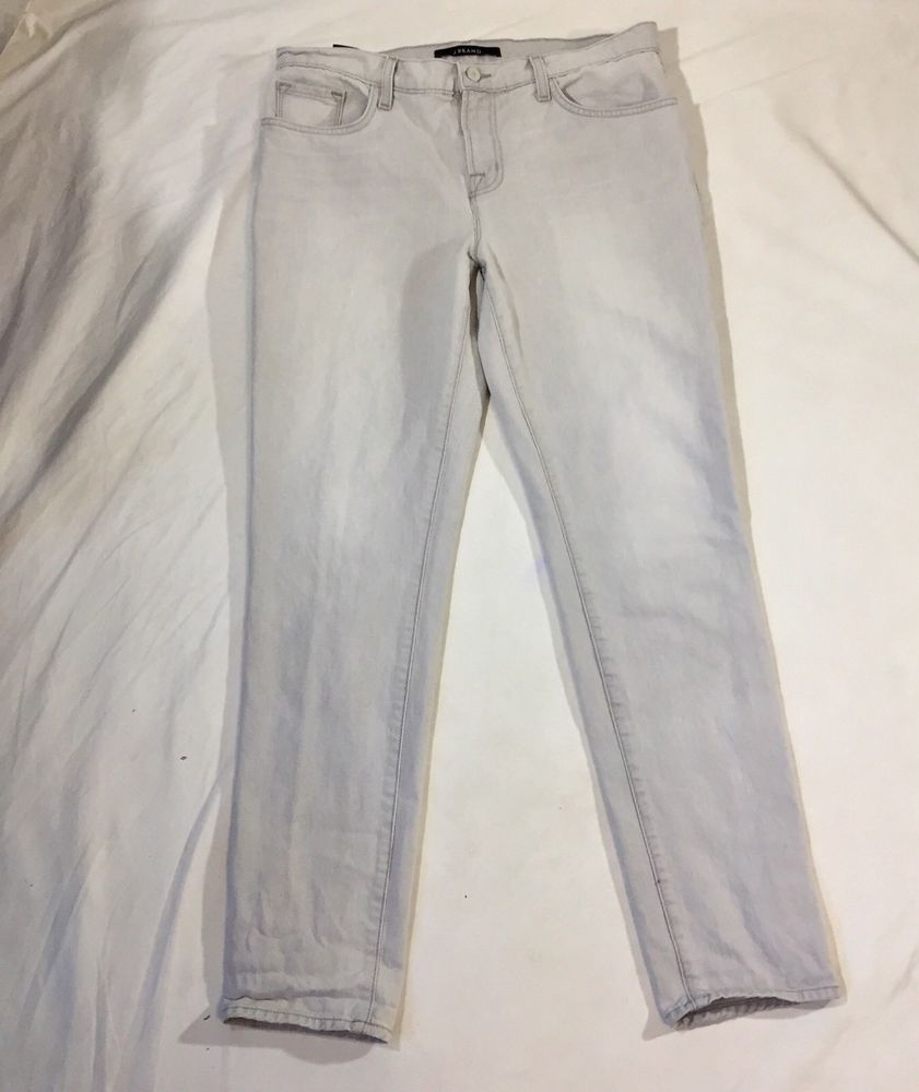 J brand green velvet dress  J Brand Jake Rockaway Jeans Gray Mid Rise Slim Boyfriend Jeans
