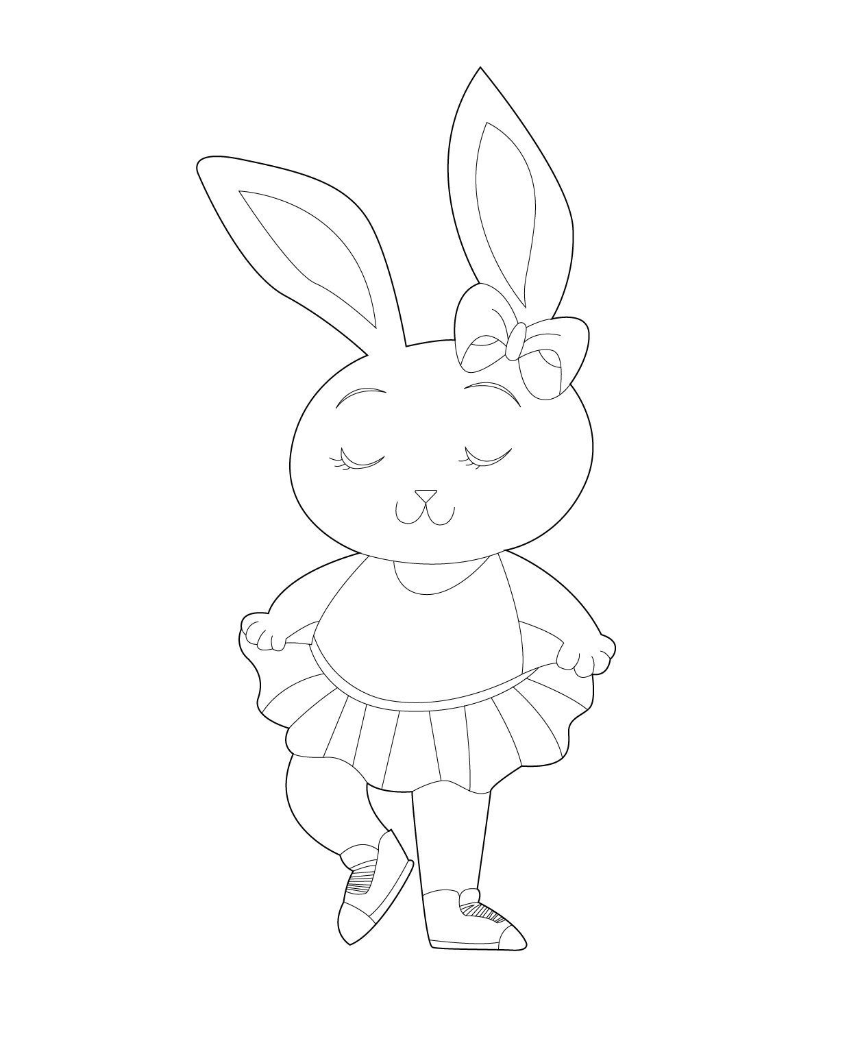 Download Your Free Bella Bunny Coloring Pages Bella Bunny Is A
