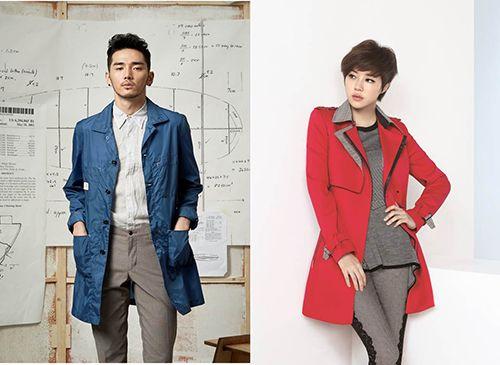 트렌치코트 활용한 '세련男&페미닌女' 스타일링 http://www.fashionseoul.com/?p=25121