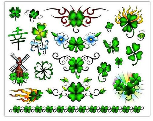 Tatuajes de tréboles - Tendenzias.com | Trébol de cuatro hojas ...