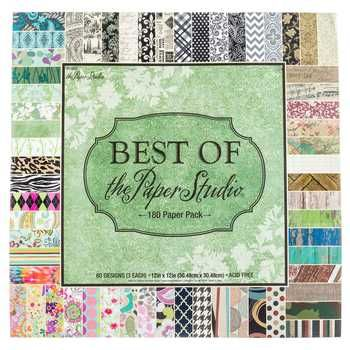 Best Of The Paper Studio Paper Pack 12 X 12 Scrapbook Paper
