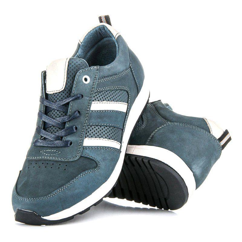 Sportowe Meskie Mazaro Szare Buty Sportowe Ze Skory Mazaro Adidas Samba Sneakers Adidas Samba Adidas Sneakers
